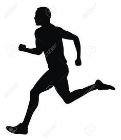 4506982-Abstract-vector-illustration-of-marathon-runner-Stock-Vector-runner-running-silhouette.jpg (1123×1300)