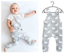Romper Sewing Pattern PDF, baby romper pattern PDF, kids romper pattern PDF, sewing patterns pdf DIY Kid and Baby Clothes, could make in any cute pattern and would be a great personal baby shower gift idea! Sewing Hacks, Sewing Tips, Sewing Tutorials, Sewing Ideas, Leftover Fabric, Love Sewing, Dress Sewing, Sewing Projects For Beginners, Sewing Patterns Free