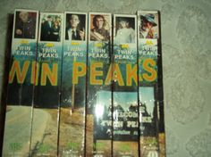 1990 Set of Twin Peaks video cassettes and cases. Nice condition. by Worldvision