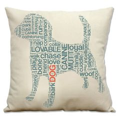 Dog Pillow, $27,by BumperPet !!