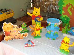 Fiestas, Eventos y mas: La fiesta con Winnie Pooh