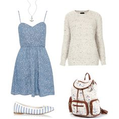 """""""Blue Skies"""" by clumsycheetah on Polyvore"""