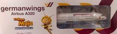 Germanwings A320-200 D-AIQE  Biene Maja  1:200 Limox Wings & Herpa Wings Katalog