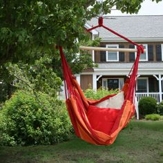 this one  definitely  how perfect to have a brazilian swing chair hanging in back caribbean jumbo hammock chair by beachside hammocks   mocha      rh   pinterest
