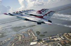 Formation, USAF Thunderbirds