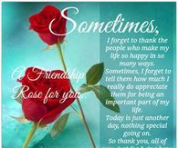 Sometimes, I forget to thank the people who make my life happy....