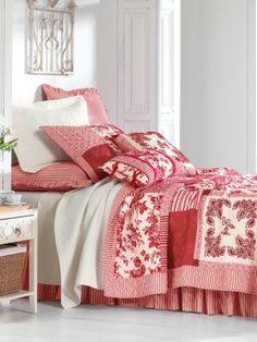 Barrington Quilt, Shams, Pillows & Bedskirt | linensource
