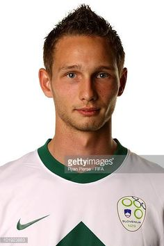 Tim Matavz of Slovenia poses poses during the official FIFA World Cup 2010 portrait session on June 9 2010 in Johannesburg South Africa