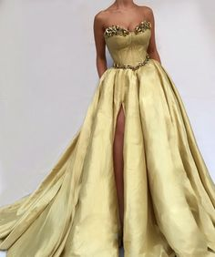 Golden Miriam TMD Gown