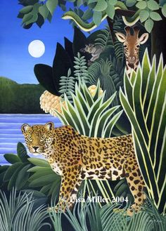 African Jungle ~ Lisa Miller: