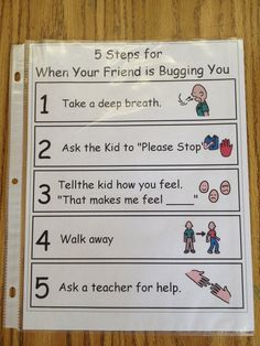 "replace step five with ""write a note for ms. nelson's private notes envelope"" so…"