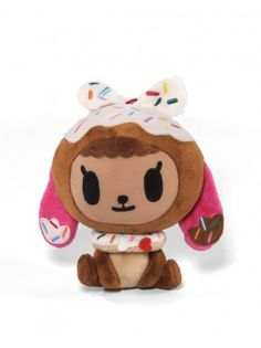 Donutina Plush $20 - Introducing Donutino & Donutina! Add these ultra sweet plush toys to your collection