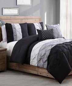 Love this Black Chelsea Comforter Set on #zulily! #zulilyfinds