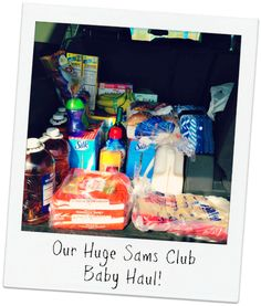 During Sams Club Baby Days you can get a huge haul of baby stuff! #SamsClubBaby #finds #ad