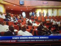 Senate confirms Fayemi, Ngige, Fashola, 15 others