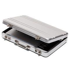Mini Briefcase Business Card Case