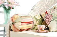 Home-Dzine - How to make a bolster cushion