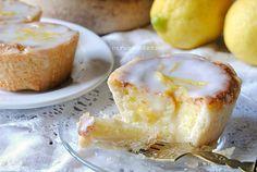 tartaletas de limón con glaseado de limoncello