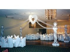 pictures of wedding pillars decorated - Bing Images