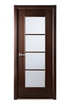 Modern Lux Interior Door Wenge