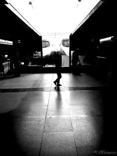 Train, Termini station, Rome