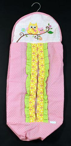 Kidsline by Denar Baby Crib Nursery Owl Diaper Stacker Holder #Kidsline