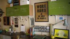 Omnipresent Chalkboards and Wide Worktables: Mary Kate McDevitt's Studio