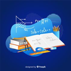 Cartoon mathematical elements background free vector MATHEMATIC HISTORY Mathematics is one of many Math Vector, Math Logo, Maths Syllabus, Watercolor Flower Background, Singapore Math, Flat Design Illustration, Accounting And Finance, Math Projects, Free Education