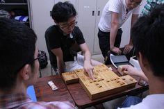 19時半頃の棋士室