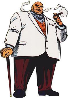 Kingpin - Marvel Comics - Daredevil nemesis - Wilson Fisk