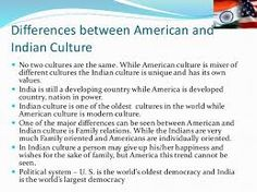 india vs american culture