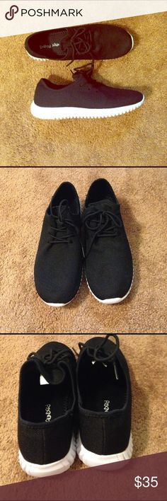 Dirty Laundry black mesh sneakers 8.5 nwob light weight super cute sneakers dirty laundry Shoes Athletic Shoes