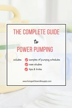 Do you want to do power pumping to increase your milk supply? Learn how to do it with this complete guide (including samples of power pumping schedules, case studies, plus tips n tricks to make it easier to do)