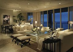 Luxury Living Room Design | ... , as you can see by just some of his design of living rooms below