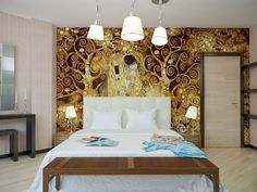 Bed Room Wall Art - http://www.dailyhomedecortips.com/home-decoration/bed-room-wall-art.html