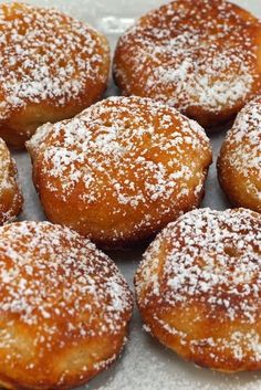 Chinese Buffet Style Donuts ~ These are so delicious! It's hard to believe that something as simple as this could taste so good.I've been making these since I was a kid and we always make a warm glaze to dip them in out of powdered sugar, milk,a little butter and vanilla.They just melt in your mouth! Almost as good as a funnel cake!