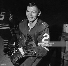 "Professional hockey Chicago Black Hawks' star, Stan Mikita, on THE TWENTIETH CENTURY. Episode, ""Firebrand on Ice: Stan Mikita."" Image dated September Get premium, high resolution news photos at Getty Images Bobby Hull, Bobby Orr, Blackhawks Game, Chicago Blackhawks, Ice Hockey Players, Nhl Players, Mike Bossy, Bruce Bennett, Hockey Pictures"