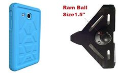 SlipGrip RAM 15 Ball Mount For Samsung Galaxy TAB A 70 Tablet Using Poetic Silicon Bumber Case -- Details can be found by clicking on the image.