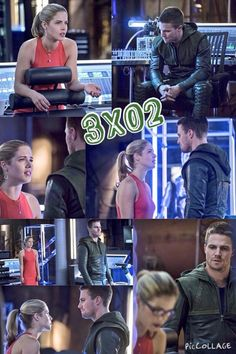 Arrow - Oliver and Felicity #3.2 #Season3 #Olicity