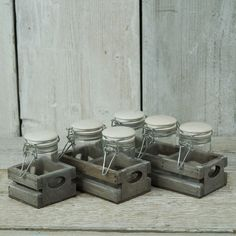 Decorative Glass Jars | Satchville Gift Co - Home Gifts