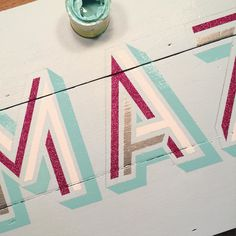 Adding in the drop shadowI'll be showing this piece at the @thelondonillustrationfair on 4-6th December at Oxo Tower Wharf tickets are on sale now #sign #signage #signpainting #signpainter #signwriting #signwriter #type #typography #typographylove #goodtype #alwayshandpaint #paint #handdecorated #handpainted #1shot #1shotpaint #letters #lettering #handlettering #artist #lif2015 #londonillustrationfair by daisyemerson