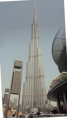 Dubai, United Arab Emirates 2012. LEGO - Life of George has been to Dubai together.....
