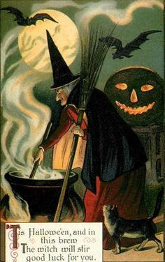 This Halloween and in this brew the witch will stir good luck for you