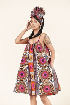 African Inspired Fashion, African Print Fashion, Africa Fashion, African Fashion Designers, Short African Dresses, African Fashion Dresses, Fashion Outfits, African Attire, African Wear