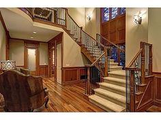 Gorgeous custom built foyer