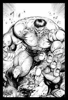 #Hulk #Fan #Art. (The Incredible Hulk) By: RobertoRibeiro. (THE * 5 * STÅR * ÅWARD * OF: * AW YEAH, IT'S MAJOR ÅWESOMENESS!!!™) ÅÅÅ