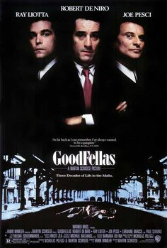 Movie Poster Acoustic Panel - Goodfellas