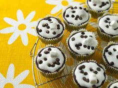 Hungry Girl's Chocolate Marshmallow Madness Cupcakes.  These shouldn't blow your diet. ;)