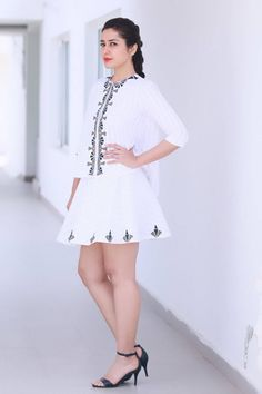 Rashi Khanna Cross Legs Show Stills In White Mini Skirt Bollywood Wallpaper BOLLYWOOD WALLPAPER : PHOTO / CONTENTS  FROM  IN.PINTEREST.COM #WALLPAPER #EDUCRATSWEB