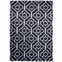 Charcoal Morocco Moorish Rug